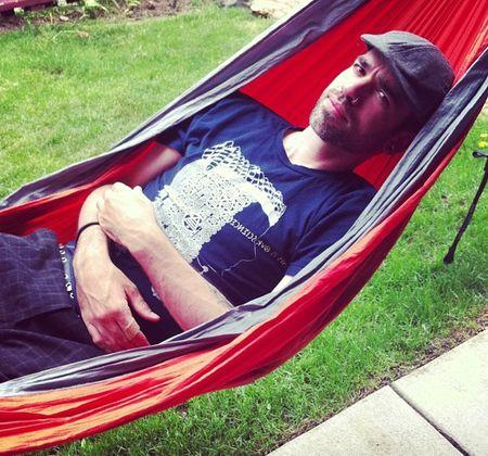 Make your day be more special by using the parachute hammock at home for some activities